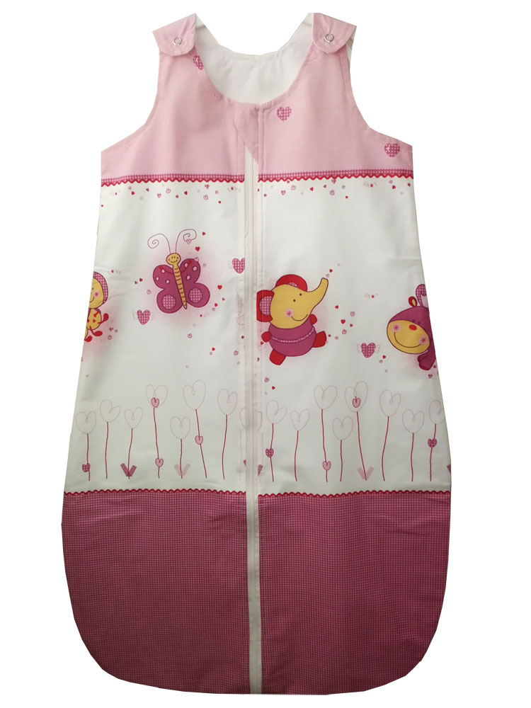 Sac de dormit 0.5 tog Baby Animals 95 cm