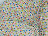 "Poza cu Cearceaf cu elastic patut bebelus 63x127 imprimat cu patratele ""Mozaic"""