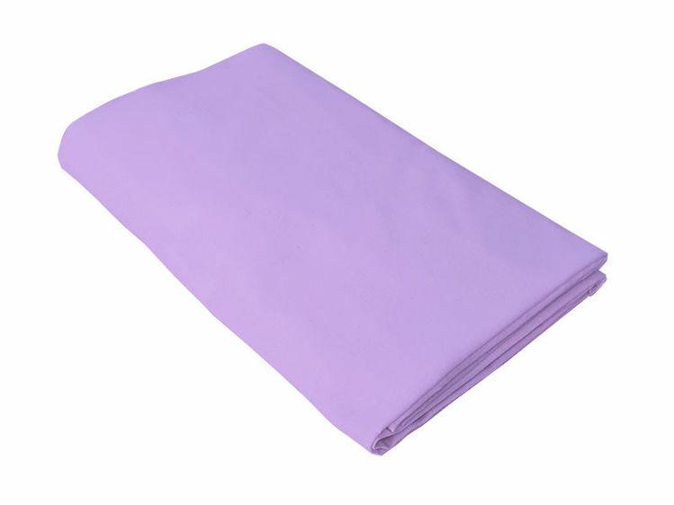 Poza cu Cearceaf mov, KidsDecor, cu elastic pat tineret 120x200 cm