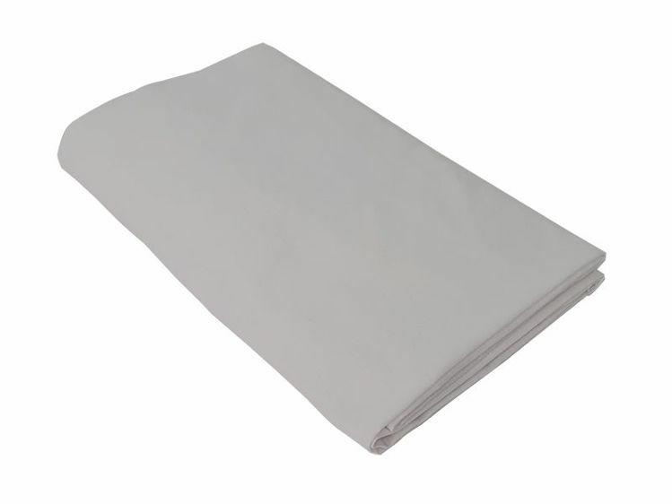 Poza cu Cearceaf gri cu elastic pat tineret 100x200 cm