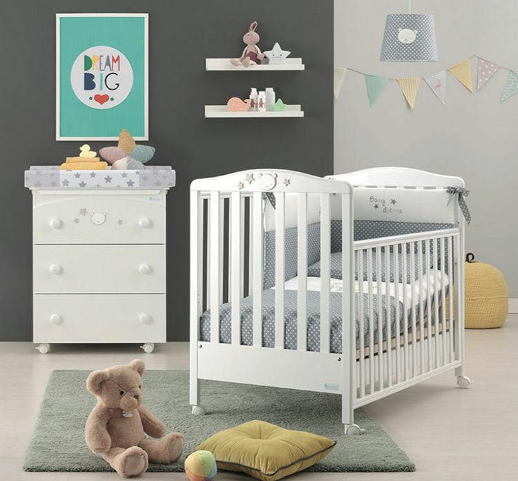 Poza cu Camera bebelusi Baby Dream Alb