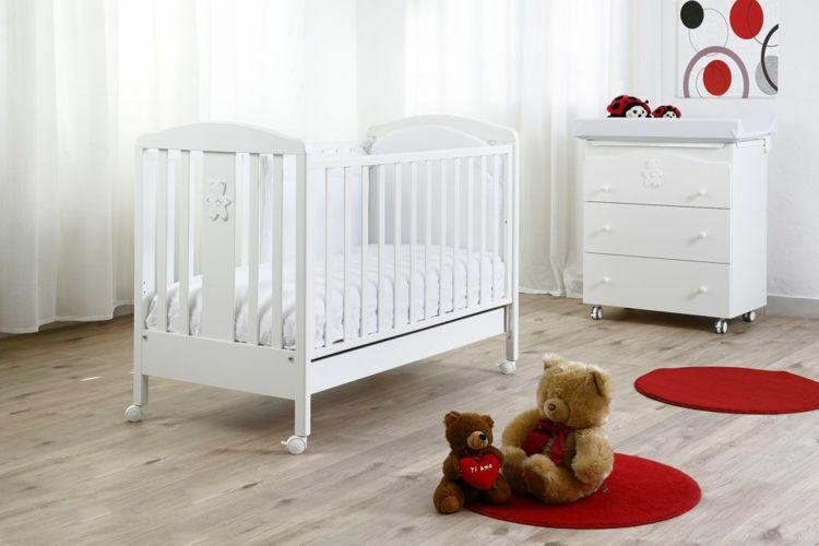 Poza cu Camera bebe Mio Orsetto alb