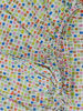 "Poza cu Cearceaf ""Mozaic"", patut bebelus 70x110 cm, cu elastic, din bumbac"