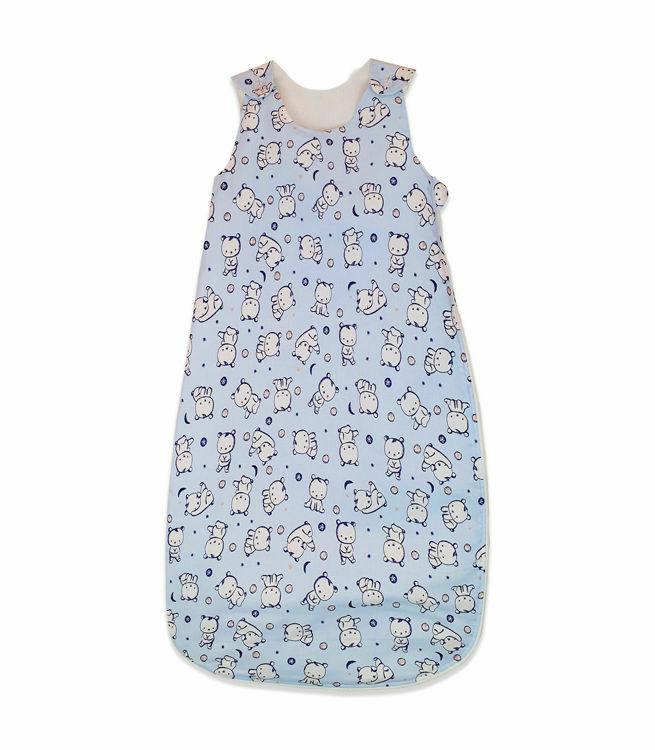Poza cu Sac de dormit, KidsDecor, iarna 2.5 tog Baby bear albastru 140 cm