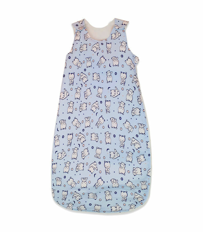 Poza cu Sac de dormit, KidsDecor, primavara 0.8 tog Baby Bear albastru 140 cm