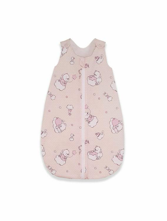 Poza cu Sac de dormit, KidsDecor, toamna 1 tog Ursuletul Martinica roz 70 cm