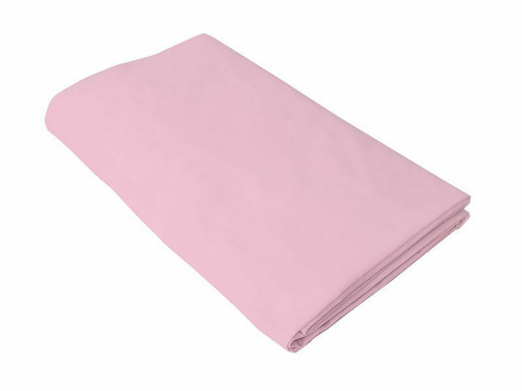 Poza cu Cearceaf roz, KidsDecor, cu elastic patut bebelus 70x110 cm