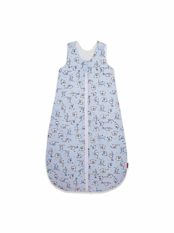 Poza cu Sac de dormit, KidsDecor, iarna 2.5 tog Loving Bear blue 85 cm