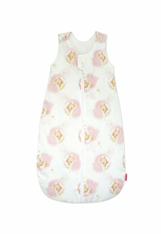 Poza cu Sac de dormit, KidsDecor, primavara 0.8 tog Pink Bear's Dream 130 cm