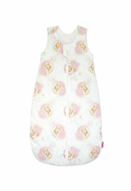 Poza cu Sac de dormit, KidsDecor, iarna 2.5 tog Pink Bear's Dream 130 cm