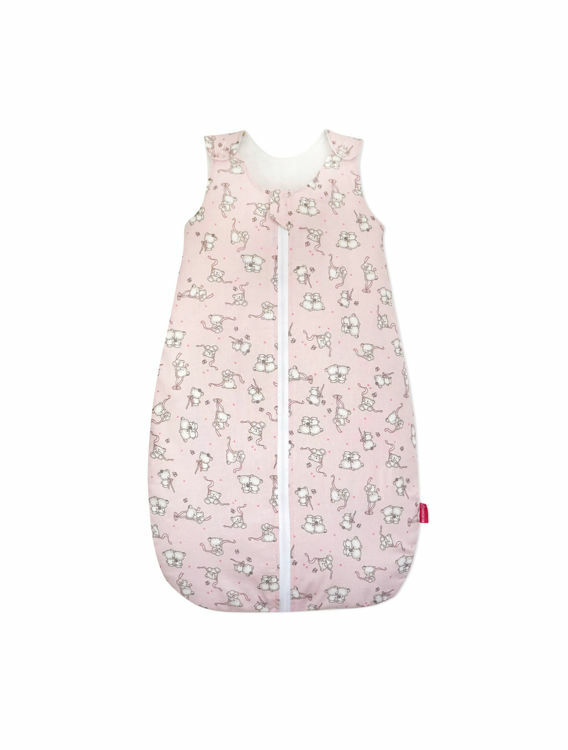 Poza cu Sac de dormit, KidsDecor, primavara 0.8 tog Loving Bear pink 70 cm
