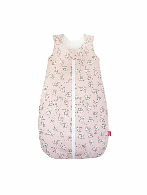 Poza cu Sac de dormit, KidsDecor, iarna 2.5 tog Loving Bear Pink 70 cm