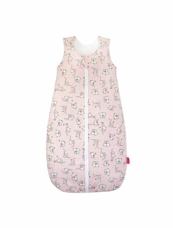 Poza cu Sac de dormit , KidsDecor, vara 0.5 tog Loving bear pink 95 cm
