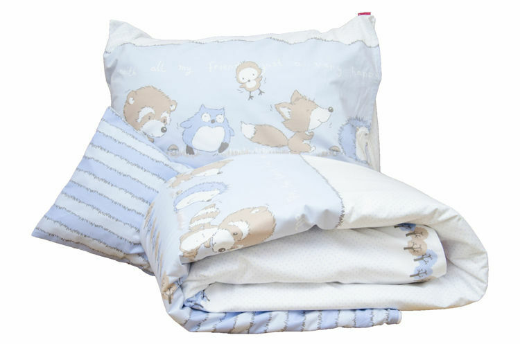 Poza cu Lenjerie pat copii Odette Blue 160x200/50x60 cm