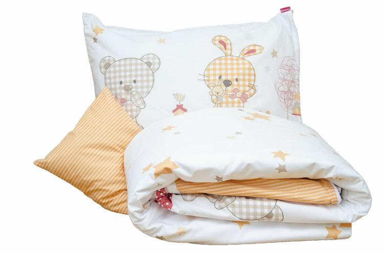 Poza cu Lenjerie pat copii Sweet Dreams 110x125/40x60 cm