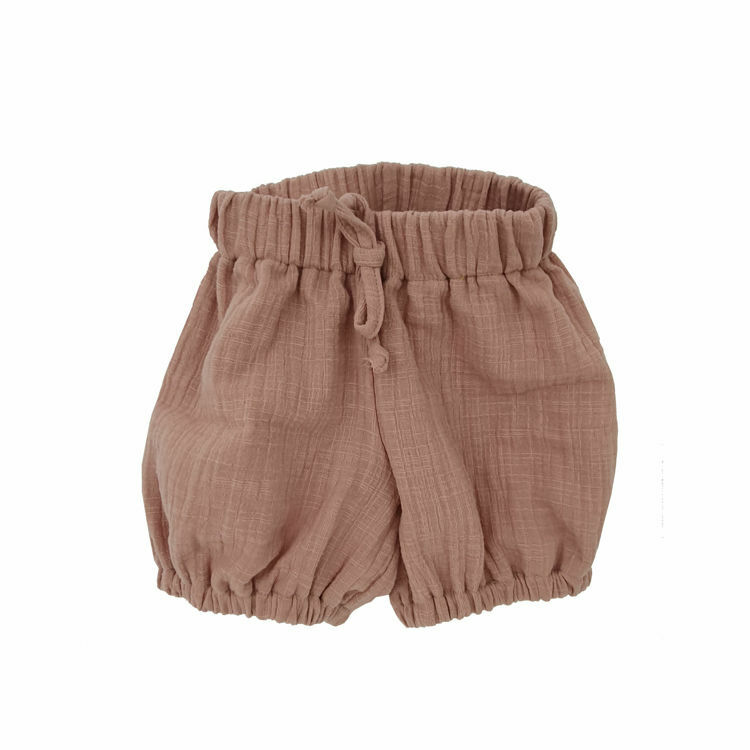 Poza cu Pantalonasi bufanti din Muselina Romantic Rose 12-18 luni