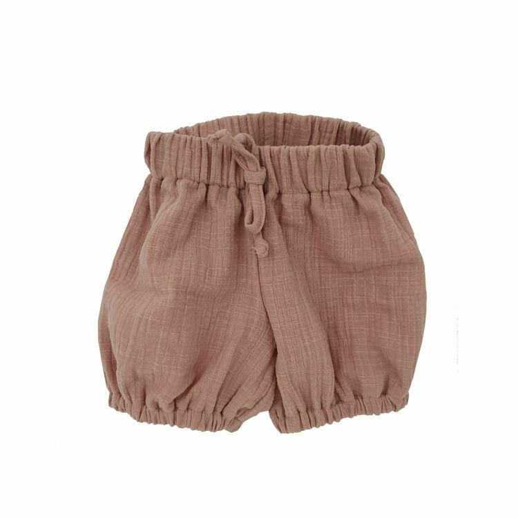 Poza cu Pantalonasi bufanti din Muselina Romantic Rose 6-7 ani