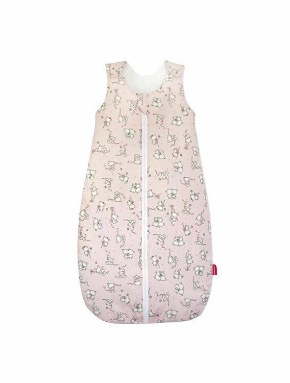 Poza cu Sac de dormit, KidsDecor, iarna 2.5 tog Loving Bear pink 95 cm
